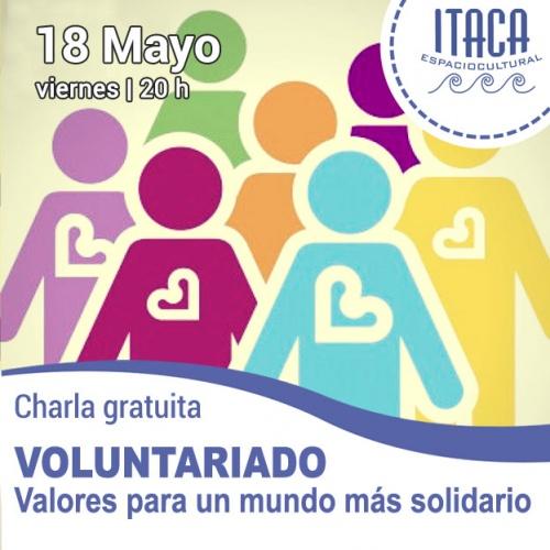 Charla coloquio: Voluntariado, valores para un mundo más solidario