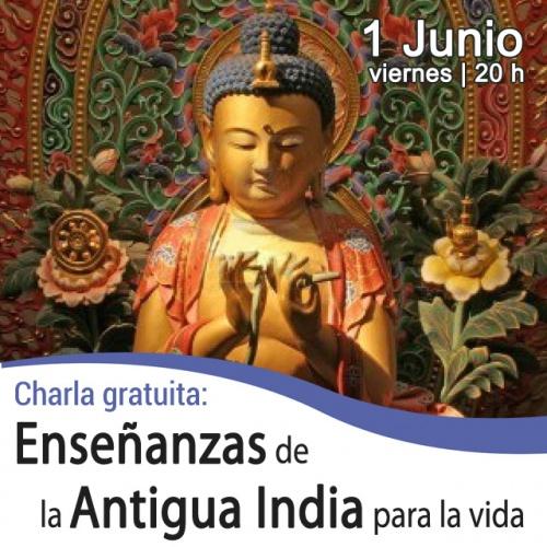 Charla coloquio: Enseñanzas de la Antigua India para la vida