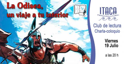 CLUB DEL LIBRO  Charla coloquio: La Odisea, un viaje a tu interior