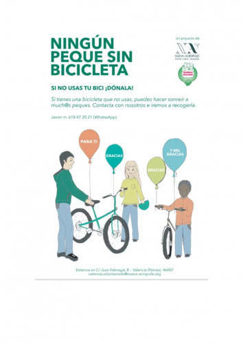CAMPAÑA RECOGIDA DE BICICLETAS (durante julio y agosto)