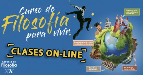 CURSO Online de FILOSOFÍA PARA VIVIR