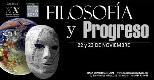 VIII CONGRESO POR EL DÍA MUNDIAL DE LA FILOSOFÍA- Filosofía y progreso